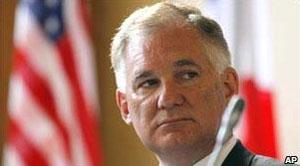 O vice-secretário de Defesa americano, William Lynn (Foto: AP)