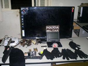 Assalto a Kracjberg  (Foto: Divulgação/ Polícia)