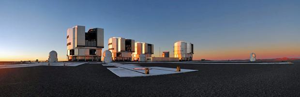 Laboratório Observatório Europeu do Sul (ESO) no Cerro Paranal, no Chile (Foto: Divulgação/F. Kamphues/ESO)