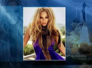 """Beyonce acordou a tripulação do Atlantis com a música """"Run the World (Girls)"""" (Foto: Reprodução)"""