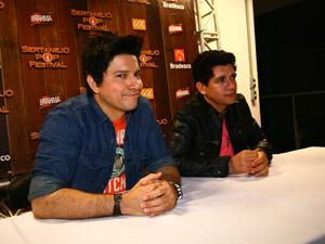 Zé Henrique e Gabriel (Foto: Maurício Vieira)