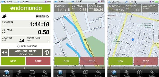 Aplicativo também permite integração com monitores cardíacos  (Foto: Reprodução)