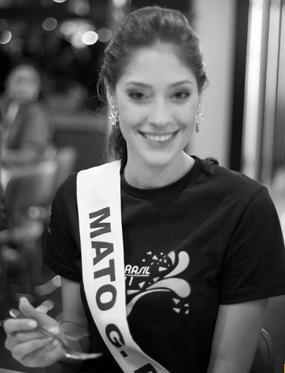 Miss MS, Raiza Vidal, de 22 anos, se prepara para a disputa do Miss Brasil 2011 (Foto: Divulgação/Miss Brasil)