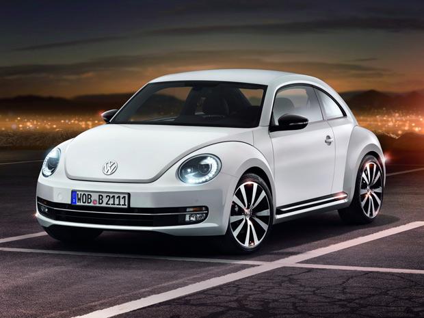 New Beetle 2012 está mais 'masculino', segundo a Volkswagen (Foto: Divulgação)