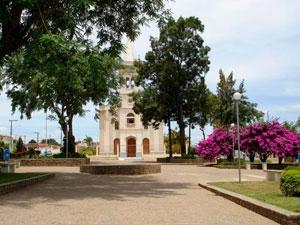 Igreja da cidade de Maracás, na Bahia (Foto: Divulgação/Prefeitura)