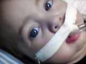 Bebê em risco de morte espera há 3 meses por equipamento em MS (Foto: Arquivo pessoal/Marcela Rodrigues)