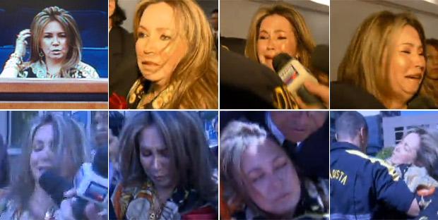 Montagem de fotos de Deborah Guerner (Foto: Reprodução / TV Globo)
