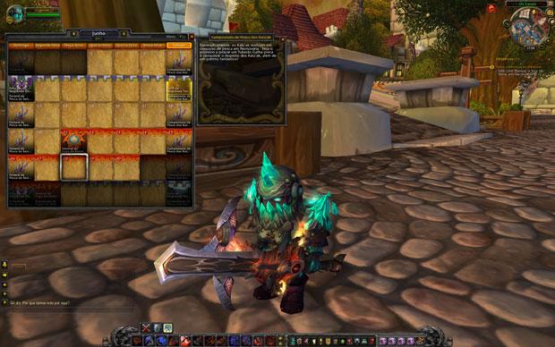 Informações sobre os personagens em português facilitam a compreensão do jogador (Divulgação/Blizzard) (Foto: Divulgação/Blizzard)