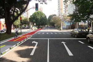 PBH pretende fazer ciclovia na Avenida Bernardo Monteiro, na Região Centro-Sul de BH. (Foto: Divulgação PBH.)