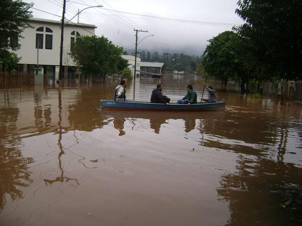 Município decretou situação de emergência, segundo a Defesa Civil (Foto: Anapaula Gotardi/VC no G1)