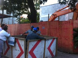 Ceg trabalha no Leblon (Foto: Tássia Thum/G1)