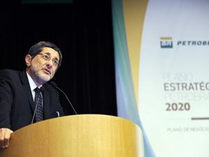 O presidente da Petrobras, José Sergio Gabrielli, fala sobre o plano de investimentos da companhia (Foto: Divulgação/Petrobras)