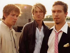 O trio de pop rock Hanson (Foto: Divulgação)