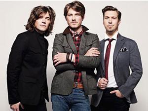 A banda Hanson em 2011 (Foto: Divulgação)