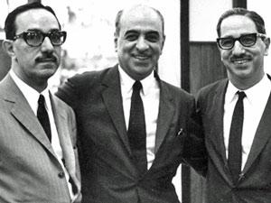 Ricardo, Rogério, Roberto, Marinho (Foto: Agência O Globo)