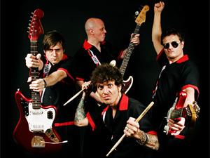 A banda argentina de surf music The Tormentos é uma das atrações do 14º Porão do Rock (Foto: Divulgação)
