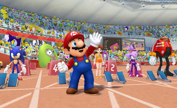 Game das Olimpíadas 2012 com Mario e Sonic chega em novembro para o Wii (Foto: Divulgação)