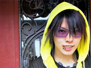 O cantor japonês Miyavi (Foto: Divulgação)