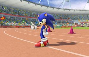 Sonic participa de esportes olímpicos ao lado de Mario (Foto: Divulgação)