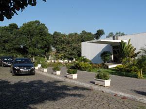 Crematório do Caju, na Zona Portuária do Rio (Foto: Henrique Porto/G1)
