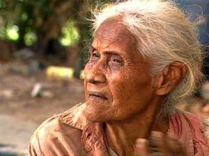 Júlia Caetano tem 110 anos e está internada em Hospital em Corumbá (Foto: Reprodução/ TV Morena)