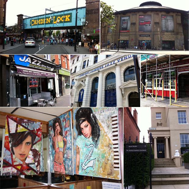 Fotos dos lugares frequentados por Amy Winehouse (Foto: Pedro Caiado/G1)