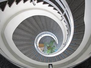 Escadarias do Palácio Anchieta, sede da Câmara Municipal de São Paulo (Foto: Roney Domingos/ G1)