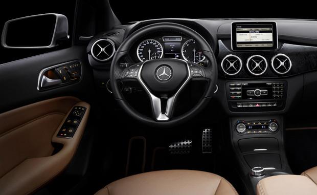 Mercedes-Benz Classe B  (Foto: Divulgação)