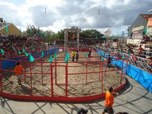 Circuito onde é realizada a corrida, que é considerada uma das atrações turísticas da cidade. (Foto: Divulgação/Corrida das Galinhas)