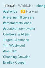 Trending Topics no Mundo, 17h33 (Foto: Reprodução)