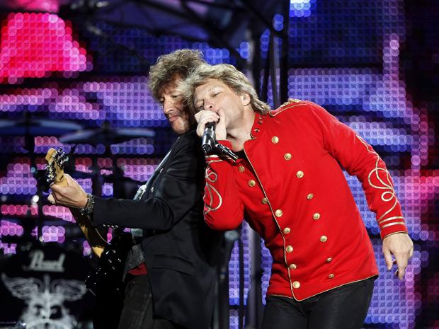 Bon Jovi se apresenta na quarta-feira (27) em Barcelona, na Espanha (Foto: Reuters)