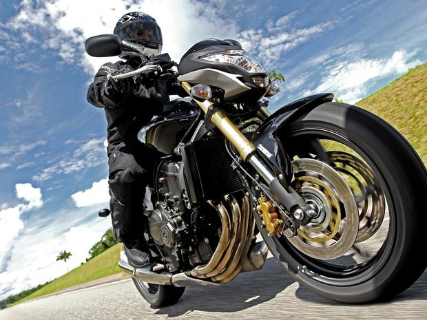 Honda CB 600F Hornet 2012 (Foto: Divulgação)