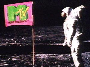 Primeira imagem da MTV americana (Foto: Divulgação)