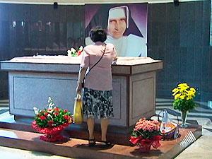 Santuário de Irmã Dulce (Foto: Reprodução/TV Bahia)