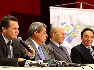 Encontro de governadores em Cuiabá (Foto: Marcos Negrini/Secom-MT)