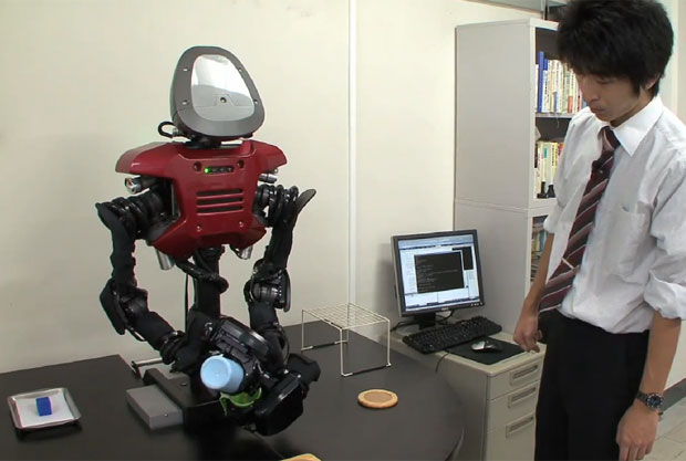 Robô consegue 'pensar' e resolver problemas sozinho (Foto: Reprodução)