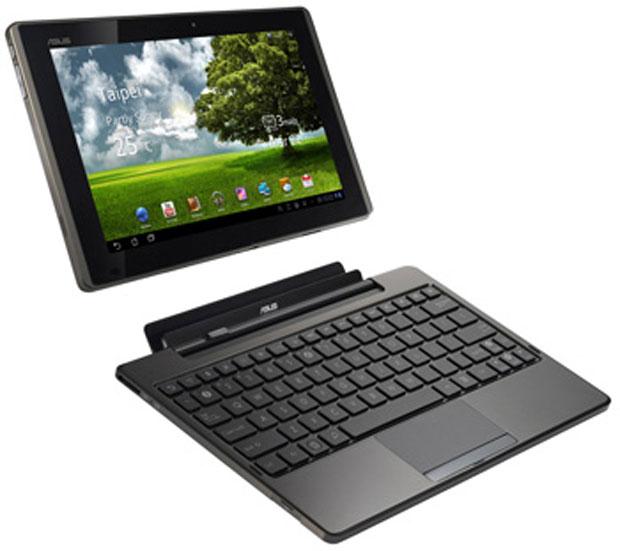 Tablet da Asus se encaixa em extensão com teclado e mouse (Foto: Divulgação)