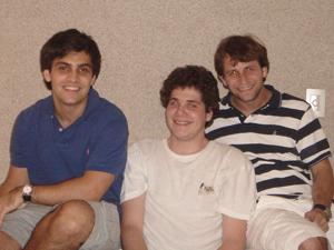 Os criadores do site Rafael Dahis, Igor Blumberg e Felipe Frajhof (Foto: Arquivo Pessoal)