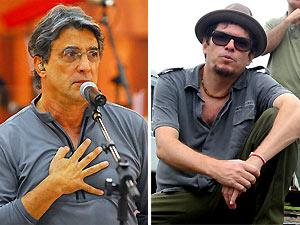 Ivan Lins e Fred Zero Quatro (Foto: João Miguel Júnior/TV Globo e Luciana Ourique/Divulgação)