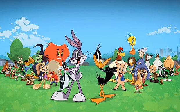 Elenco estrelado de 'O show dos Looney Tunes': são 26 episódios inéditos (Foto: Divulgação)