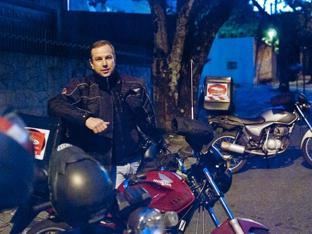 O empresário Marcelo Richter não acredita na eficiência das novas leis que visam maior segurança (Foto: Vinícius Sgarbe G1/ PR)
