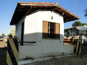 Central de patrulhamento policial de Brumado (Foto: Lay Amorim/Brumado Notícias)