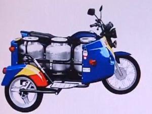 Sidecar é indicado como uma das opções para o transporte. (Foto: Reprodução RPC TV)