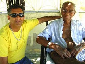 Pesquisador estava fazendo um documentário sobre a vida de João Gomes Lira  (Foto: João de Sousa Lima/Arquivo pessoal)