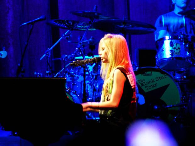 Avril no DF (Foto: Nina Quintana / Divulgação)