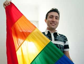 breno gays segurança pública LGBT (Foto: Flavio Moraes/G1)