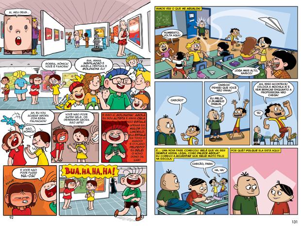 Ilustrações de 'MSP Novos 50 – Mauricio de Sousa Por 50 Novos Artistas' (Foto: Divulgação)