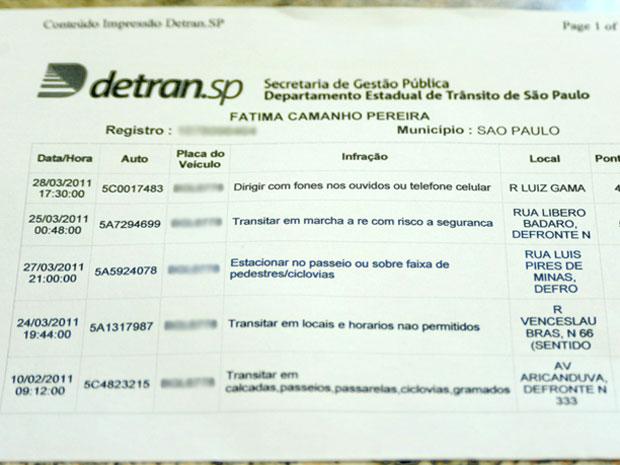 série carros multas (Foto: Flávio Moraes/G1)