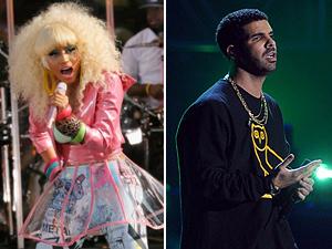Nikci Minaj e Drake (Foto: AFP)
