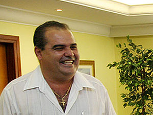 Prefeito de Nova Canaã do Norte foi morto na noite desta sexta-feira (Foto: Edson Rodrigues /Secom-MT)